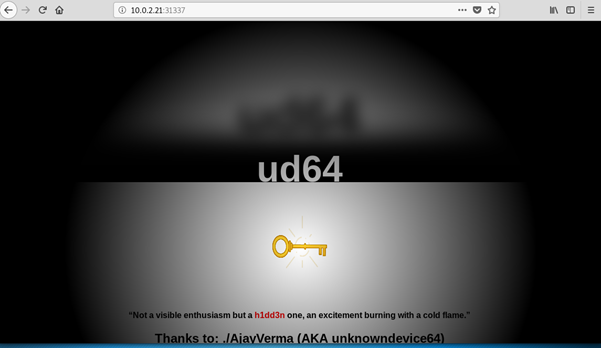 VulnHub – UnknownDevice64 – Dan Rigby PenTesting